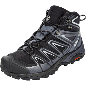 Salomon X Ultra 3 Wide Mid GTX Chaussures Homme, black/india ink/monument